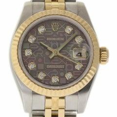 Rolex Datejust 179173 26mm Steel Gold MOP Diamond