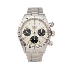 1975 Rolex Daytona Stainless Steel 6265 Wristwatch