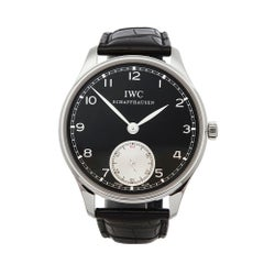 2012 IWC Portuguese Stainless Steel IW545404 Wristwatch