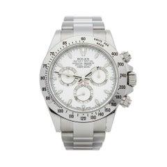 2014 Rolex Daytona Stainless Steel 116520 Wristwatch
