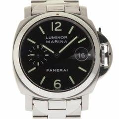 Panerai Luminor Marina PAM00050 Steel Black Dial Box/Paper/2 Year Warranty #275