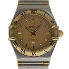 Omega Constellation 1262.70 Stainless Steel Gold Champagne 2 Year Warranty
