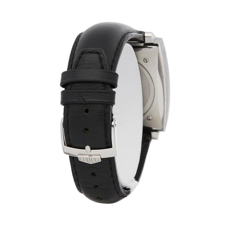 2000's Tag Heuer Monaco Stainless Steel CS2110 Wristwatch