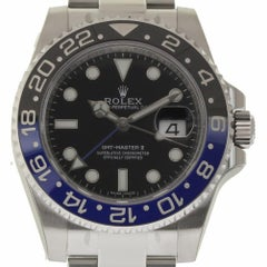 Rolex New GMT-Master II 116710 116710BLNR Steel Batman Box/Paper/Warranty #RL19