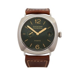 2017 Panerai Radiomir 8 Days Titanio Boutique Titanium PAM00735 Wristwatch