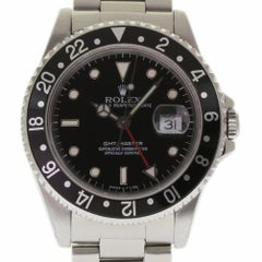 Rolex GMT Master 16700 Stainless Steel Black 1989 Automatic 2 Year Warranty