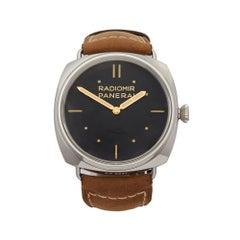 2018 Panerai Radiomir Stainless Steel PAM00425 Wristwatch