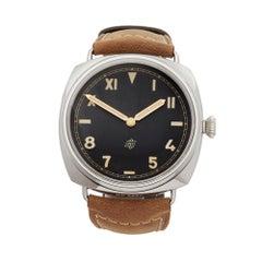 2018 Panerai Radiomir Stainless Steel PAM00424 Wristwatch
