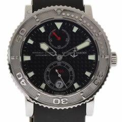 Ulysse Nardin New Marine Diver 263-55-3/92 Steel Auto Box/Paper/Warranty #UN16