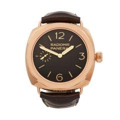 2018 Panerai Radiomir Stainless Steel PAM00522 Wristwatch