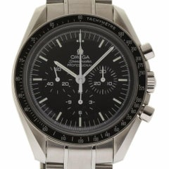 Omega Speedmaster Professional 3570.50.00 Black Steel 2 Year Warranty #1894