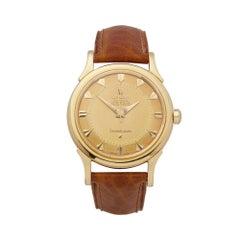 1956 Omega Constellation Yellow Gold 2853 Wristwatch