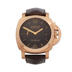 2010 Panerai Luminor Stainless Steel PAM00393 Wristwatch