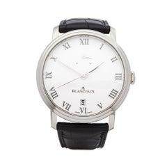 2012 Blancpain Villeret 5 Jours Platinum 6613-3403-55B Wristwatch