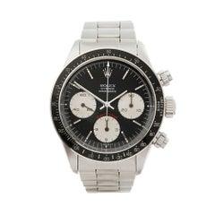 1981 Rolex Daytona Stainless Steel 6263 Wristwatch
