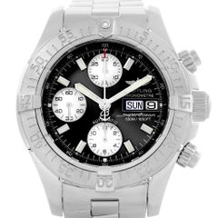 Breitling Aeromarine Superocean Chronograph Watch A13340 Box Papers