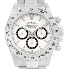 Rolex Cosmograph Daytona White Dial Zenith Movement Watch 16520