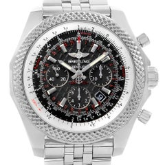 Breitling Bentley B06 Black Dial Chronograph Watch AB0611 Box Papers