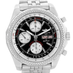 Breitling Bentley Motors GT Black Dial Men's Watch A13362