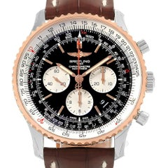 Breitling Navitimer 01 Steel Rose Gold Men's Watch UB0127 Unworn