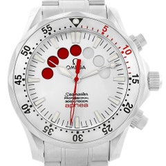 Omega Seamaster Apnea Jacques Mayol Men's Watch 2595.30.00 Box Card