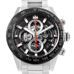 TAG Heuer Carrera Caliber Heuer 01 Skeleton Men's Watch CAR201V Unworn