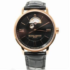 Baume & Mercier Classima Executive Men's Watch Rose Gold Certified Pre-Owned