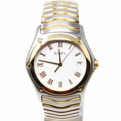 Ebel Classic Wave Senior Stainless Steel Men's Watch Certified Pre-Owned
