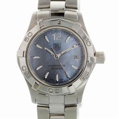 TAG Heuer Aquaracer WAF1417 with Band and Missing Dial Certified Pre-Owned