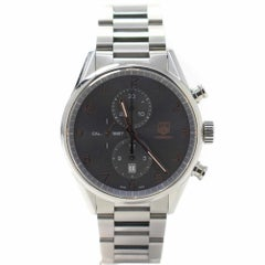 Tag Heuer Carrera CAR2013 with Stainless-Steel Bezel and Grey Dial