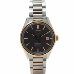 TAG Heuer Carrera WAR215E.BD0784 with Rose-Gold Bezel and Grey Dial