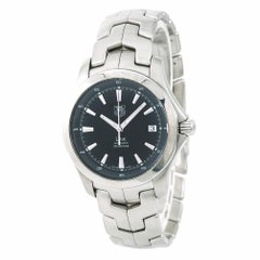 TAG Heuer Link WJF2112 Men's Automatic Watch Black Dial Stainless Steel