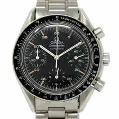 Omega 175.0032.1 Speedmaster Chronograph Stainless Steel 2 Year Warranty #386-1