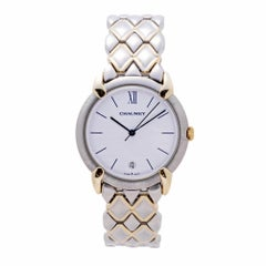 Chaumet Or-Acier 205476 Women's Quartz Watch White Dial Two-Tone Gold