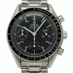 Omega 175.0032.1 Speedmaster Chronograph Stainless Steel 2 Year Warranty #386-2