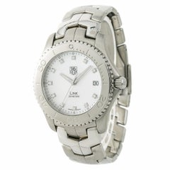 TAG Heuer Link WJ1114-0 Men's Automatic Watch Mop Dial Stainless Steel