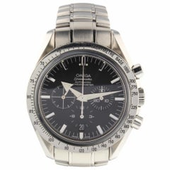 Omega Speedmaster Broad Arrow Steel Automatic Black Watch 3551.50.00 Box