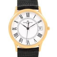 Baume Mercier Classima Ultra Thin 18 Karat Yellow Gold Quartz Watch MV045077