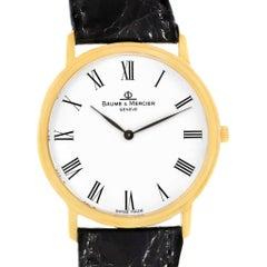 Baume Mercier Classima Ultra Thin 18 Karat Yellow Gold Quartz Watch MV045088