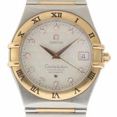 Omega 50 Anniversary Constellation 1304.35.00 Steel Gold 2 Year Warranty #1434