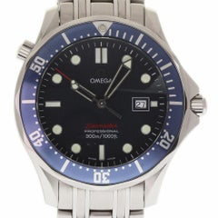 Omega Seamaster Professional Large Bond Blue Wave 2221.80 2 Year Warranty #170-2
