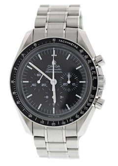 Omega Speedmaster 3570.50 with Band, Stainless-Steel Bezel and Black Dial
