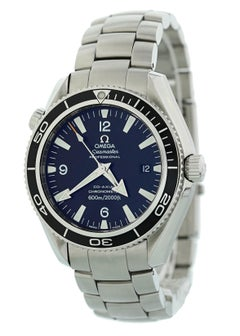 Omega Seamaster 2201.50.00 with Band, Stainless-Steel Bezel and Black Dial