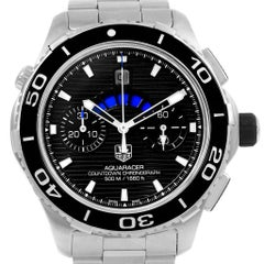 TAG Heuer Aquaracer Black Dial Steel Men's Watch CAK211A