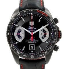 TAG Heuer Grand Carrera Black PVD Men's Watch CAV518B