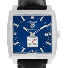 TAG Heuer Monaco Calibre 6 Blue Dial Automatic Men's Watch WW2111