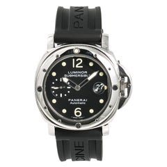Panerai Luminor Submersible PAM00024 Vintage Men's Automatic Watch Stainless