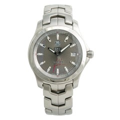 TAG Heuer Link WJF2113, Gray Dial Certified Authentic