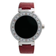 Louis Vuitton Tambour, Black Dial Certified Authentic