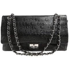 Chanel Black Leather Rue Cambon Double Flap Shoulder bag